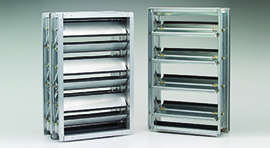 CD40X2 : Insulated Low Leak Commercial Control Damper