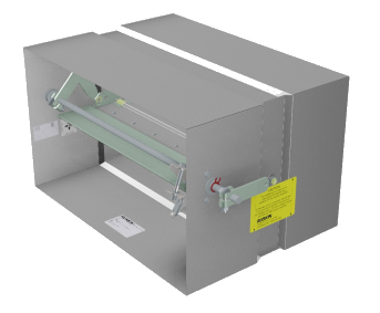 life safety dampers available for UL Design I503 horizontal installations