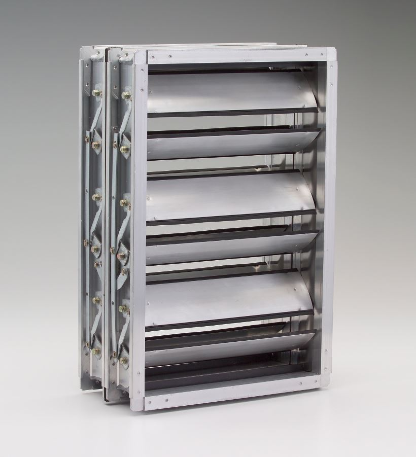 TED40x2 LOW LEAK DAMPER