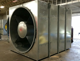 CD80AF2 and XFA fan silencers at Hudson Yard